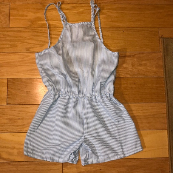 Wish Other - Backless Romper